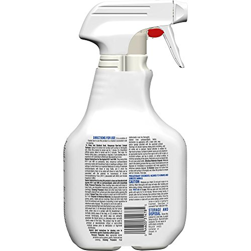 Clorox Healthcare Fuzion Cleaner Disinfectant, Spray, 32 Ounces (For Healthcare Use) by Clorox (Image #1)