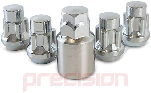Precision Chrome Locking Nuts for Ĵaguar X-Type with Aftermarket Alloy Wheels PN.SFP-N10164