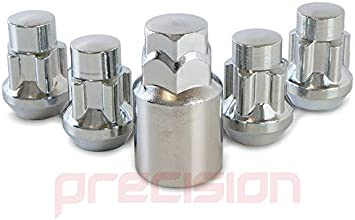 Precision Chrome Locking Nuts for Ĥonda Jazz with Aftermarket Alloy Wheels PN.SFP-N10139