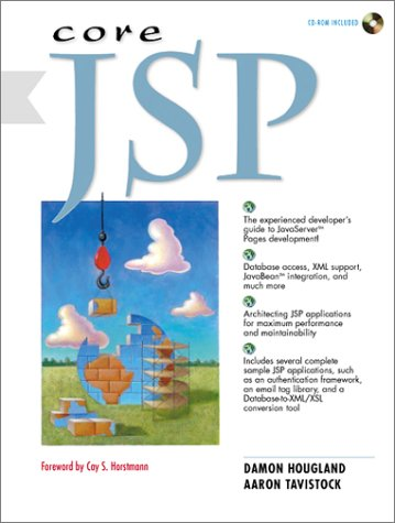 Core JSP by Prentice Hall Ptr