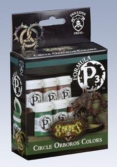 Privateer Press Formula P3 Circle Colors Model Kit (Privateer Press Paint Set compare prices)