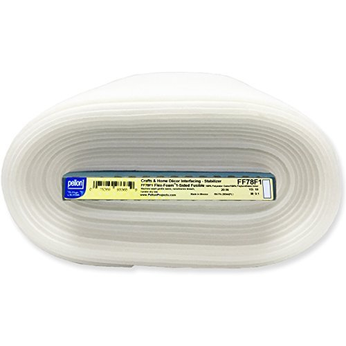 - Pellon FF78F1 10yd Flex 1-Sided Fusible Foam Stabilizer 20