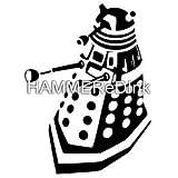 Dr Who Dalek 3 Die Cut Vinyl Car & Truck Decal Window Sticker