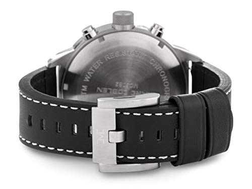 TW Steel Marc Coblen edition kronograf med läderrem, 50 mm, svart, TWMC58