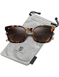 Classic Square Polarized Sunglasses Unisex UV400 Mirrored Glasses SJ2050