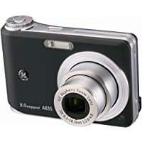 GE-A835 8MP Digital Camera with 3X Optical Zoom (Black) Noticeable Review Image