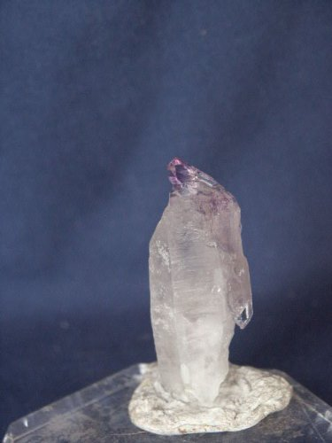 (Rare Elestial Amethyst Multiple Terminated Quartz Crystal Scepter (Colorado), 1.13.34)