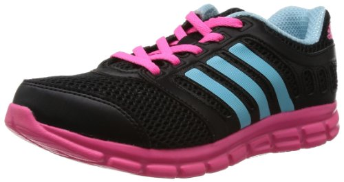 adidas Performance Kinder Laufschuhe schwarz/pink/hellblau