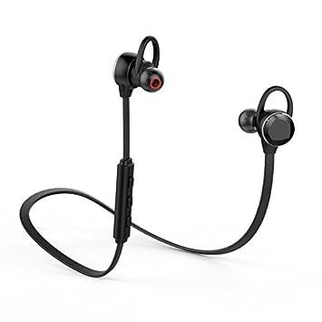 Auriculares inalámbricos Bluetooth 4.1 HAVIT para ejercicio gimnasio y correr (Negros): Amazon.es: Electrónica