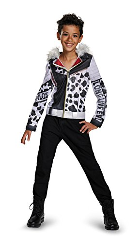 Carlos Deluxe Descendants Disney Costume, Large/10-12