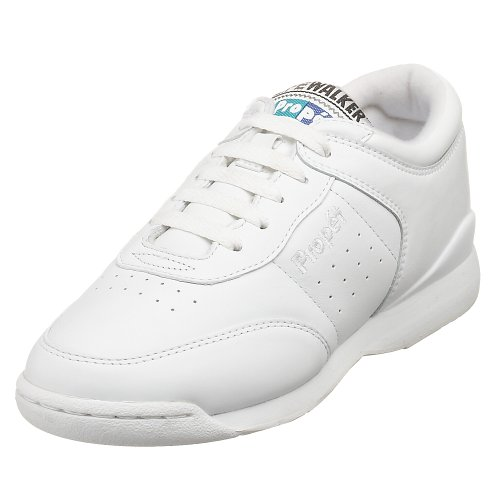 Propet Women's Life Walker Sneaker,White,9 M (US Women's 9 B) (Washable Walker Shoes)