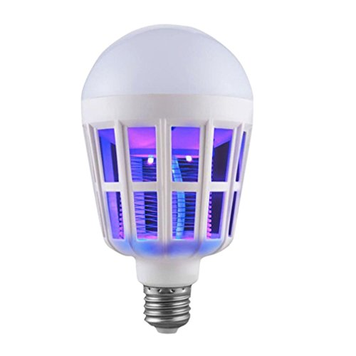 Pendant Dual Lamp (Anti Mosquito Bulb Lighting Dual-Purpose Lamp Three Stage Switch LED Bulb for Outdoor Porch Back Yard House Room Garage Kitchen)