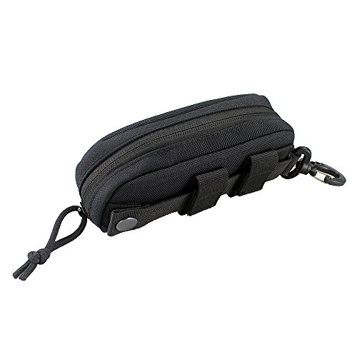 Tactical MOLLE Glasses Shockproof Protective Box Portable Outdoor Sunglasses Pouch Eyewear Carry Case - Sunglasses Hard Glasses Protective