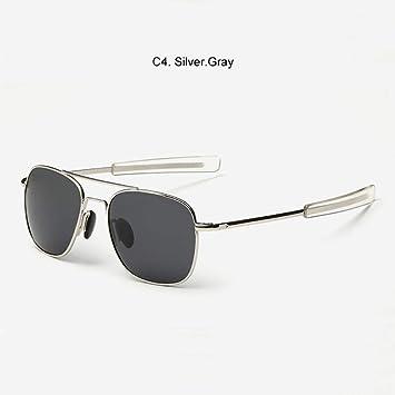 Gafas De Sol Militar del Ejército Americano Gris Plata, Gafas ...