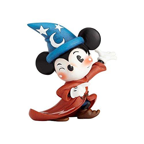 Enesco World of Miss Mindy Disney Fantasia Sorcerer Mickey, 5.51 Stone Resin Figurine, Multicolor
