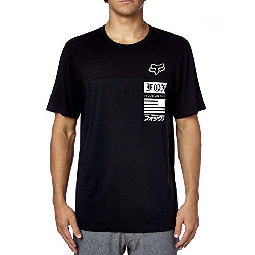 Fox Racing Woven Shorts (Fox Racing Mens Sanded Crew Short-Sleeve Shirt Black Large)