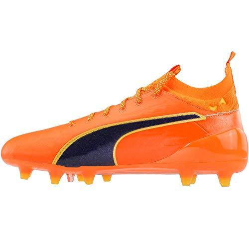 Puma Noir 1 argent De Fg Orange Crampons Evotouch Foot OOqrx1w