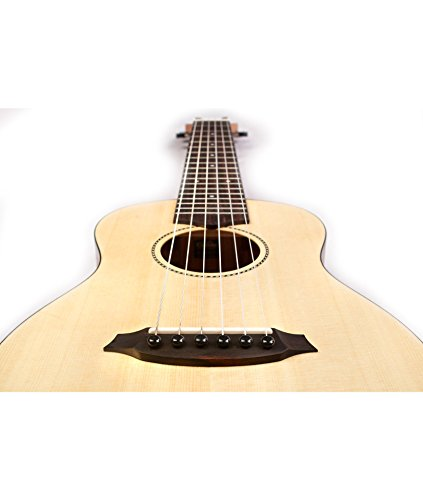 Cordoba Mini M Travel Acoustic Nylon String Guitar With Cordoba Gig Bag