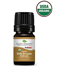 Plant Therapy Helichrysum Italicum ORGANIC Essential Oil. 5 ml (1/6 oz) 100% Pure, Undiluted, Therapeutic Grade.