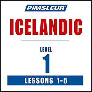 Pimsleur Icelandic Level 1 Lessons 1-5 Speech