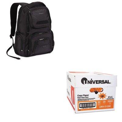 KITTRGTSB705USUNV21200 - Value Kit - Targus Legend IQ Backpack (TRGTSB705US) and Universal Copy Paper (UNV21200)