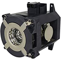 AuraBeam Economy Replacement Projector Lamp for NEC NP26LP With Housing
