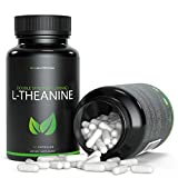 L-Theanine 200mg - 120 Count | Taken for its Ability to Promote Focus, Relaxation & Stress Relief | Powerful Synergy When Paired with Caffeine/Coffee | V-Capsules