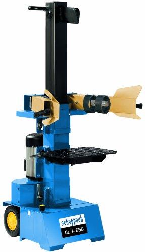 Scheppach ox 1-650 Hydraulikspalter stehend 230V 6 to