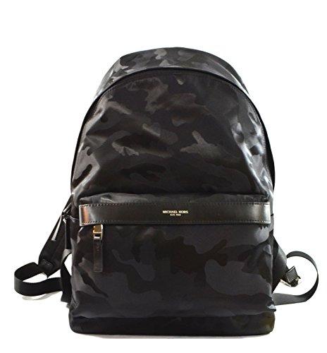 Michael Kors Kent Nylon Backpack (Camouflage Black)