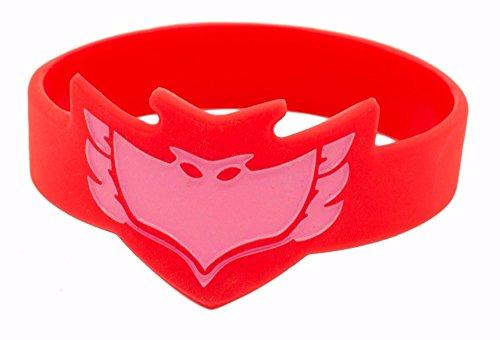 [1pc Mask Wrist Band - Owlette] (Pj Masks Owlette Halloween Costume)