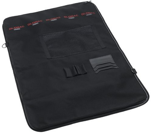 Global G-668/16 - Knife Roll with Handle and 16 Pockets by Global