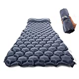 Sleeping Pad With Inflatable Pillows Review and Comparison
