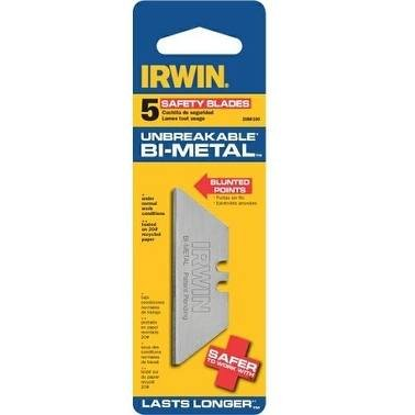 Irwin 2088100 Bi Metal Safety Blades 5 Count