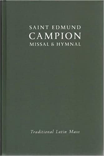 Saint Edmund Campion Missal & Hymnal Traditional Latin Mass 2013 Brand New! by Amazon