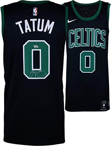 - Jayson Tatum Boston Celtics Autographed Nike Black Swingman Jersey - Fanatics Authentic Certified - Autographed NBA Jerseys