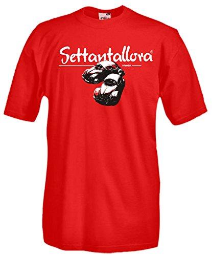 Settantallora - Camiseta - para hombre Rojo