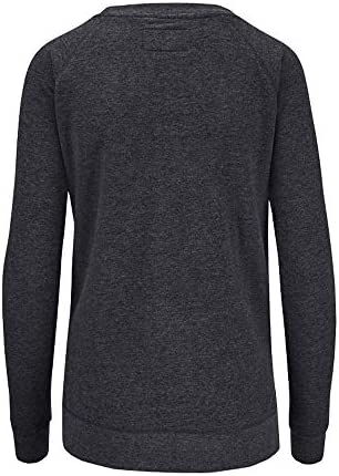 Dakine Women's Arya Eco Fleece Shirts (Heather Black Logo,M)