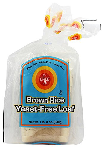Ener-G - Gluten Free Bread Brown Rice Yeast-Free Loaf - 19 oz (pack of 2)