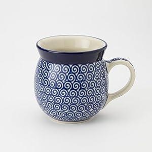 Polish Pottery Lady Mug – Doodle