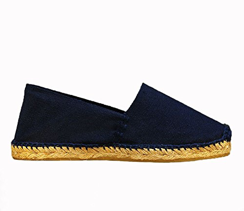 Espadrilles Hand DIEGOS Made Navy Men's Blue in Women's Spain xRqf4P