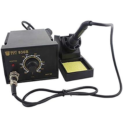 herramientas manuales, Mejor bst-936b AC 220V estacion de soldadura termostático anti - static