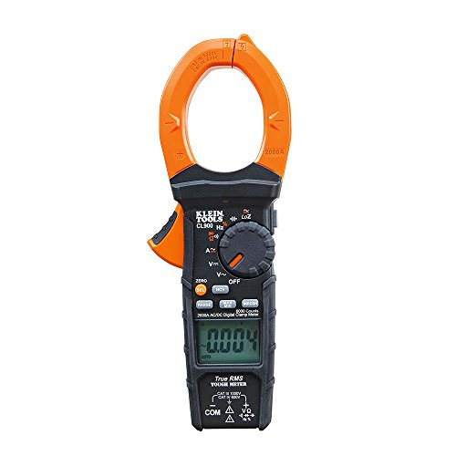 Digital Clamp Meter, Measures Current, Voltage, Resistance, Continuity, Frequency, and More Klein Tools CL900