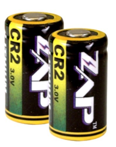 Premium 3.0v Litium CR2 Stun Gun Replacement Batteries (2 pack) by ZAP