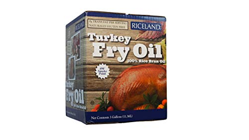 Riceland Turkey Fry Oil - 3 Gallon (Best Cooking Oil For Deep Frying Turkey)