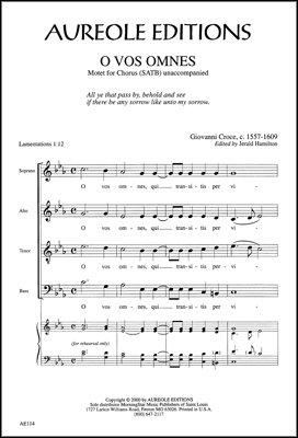 - O Vos Omnes Sheet Music