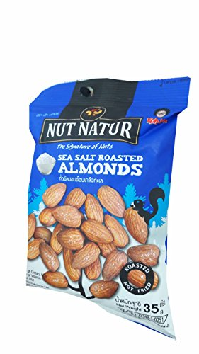 Loccitane Almond Delicious Paste (3 packs of Sea Salt Roasted Almonds. The Signature of Nuts, Roasted not Fried by koh kae. (35 g/)