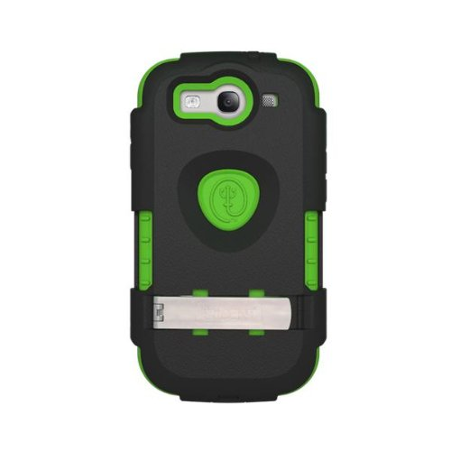 Trident Ams-I9300-Tg Kraken Ams Case for Samsung Galaxy S III - 1 Pack - Retail Packaging - Green ()