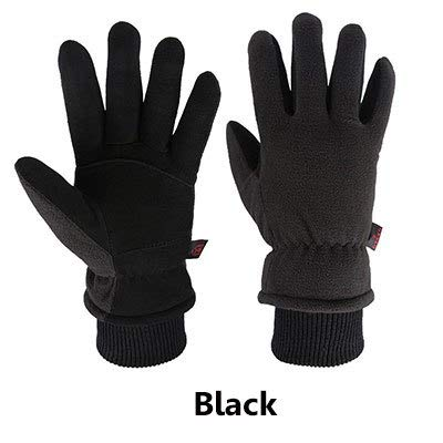 OZERO Waterproof Work Gloves Safety Garden Gloves Leather Welding Protective for