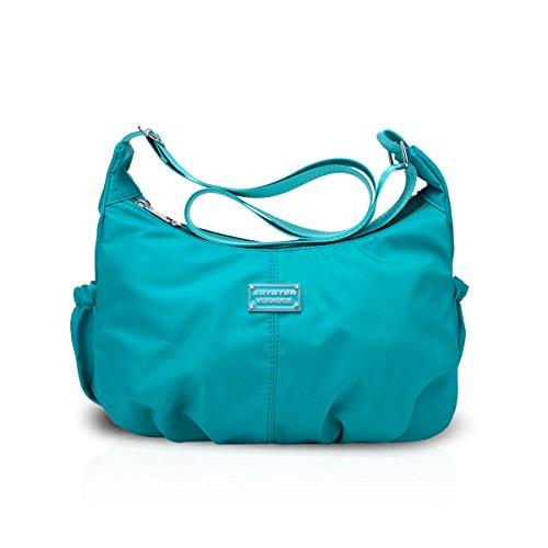Handbags Nylon Hobo Shoulder Light Female Waterproof Purse Women Blue Satchel Bag Crossbody Bag Tote amp;DORIS NICOLE EwpqREO