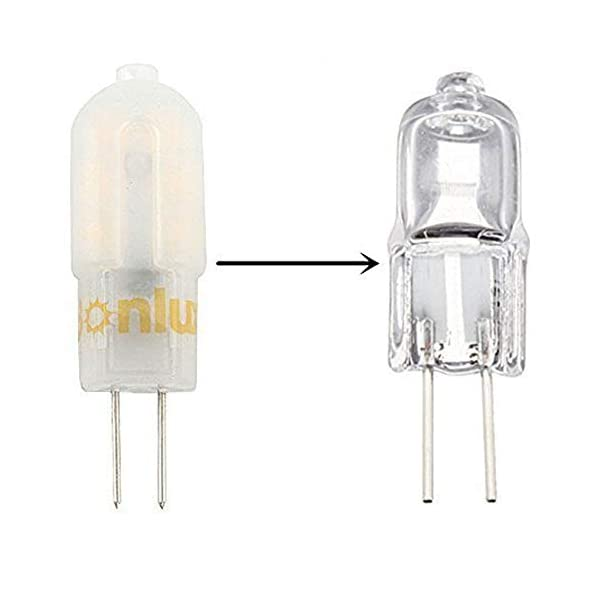 Bonlux G4 12V LED Lampadina 3W Bianco Caldo 3000K LED G4 Capsule 25W Lampada Alogena Sostitutiva Lampadario (Non… 3 spesavip
